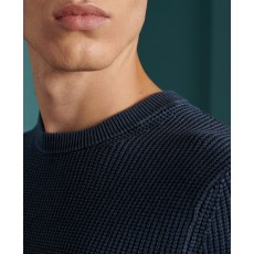 Superdry Academy Dyed Textured Crew