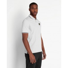 Lyle & Scott  Tipped White Polo Shirt
