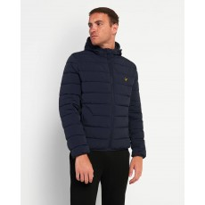 Lyle & Scott  Lightweight Navy Puffet Jacket