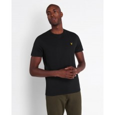 Lyle & Scott  Plain Jet Black T-Shirt