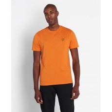 Lyle & Scott  Plain Risk Orange T-Shirt