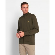 Lyle & Scott  Smart Track Green Top