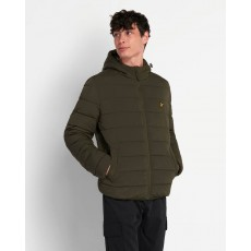 Lyle & Scott  Lightweight Green Puffa Jacket
