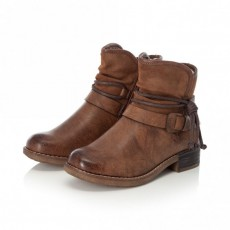 Rieker Brown Ankle Boot