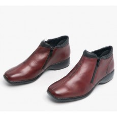 Rieker Burgundy Ankle Boot