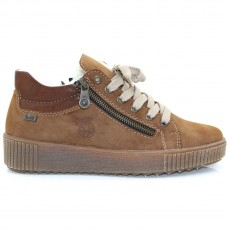 Rieker Two Tone Brown Trainer