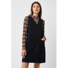 Great Plains Orlando Cord V Neck Dress Space Navy