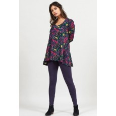 Nomads Cotton Aubergine Leggings