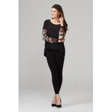 Joseph Ribkoff Ladies Top Black/Multi