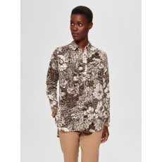 Selected Zuri Long Shirt Print