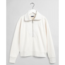 Gant Half Zip Natural Sweat