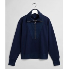 Gant Half Zip Navy Sweat