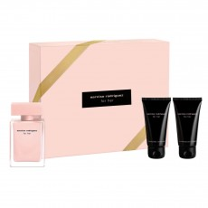 Narciso Rodriguez For Her Eau De Parfum 50ml & Body Lotion 50ml & Shower Gel 50ml