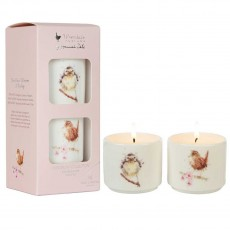 Set of 2 Mini Candles- Hedgerow