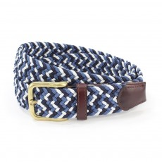 Belt Multi Navy/Blue/White M