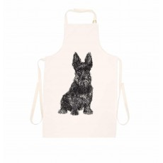 Cherith Harrison Apron Loyal Scottie Dog