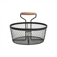 Provence Basket In Black
