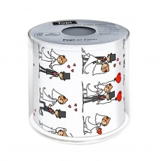 Wedding Day Toilet Roll