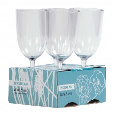 Wine Stem Glasses Set Of 4