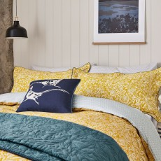 Joules Twilight Ditsy Bedding Gold
