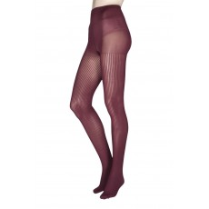 Charnos Rib Bordeaux Tights