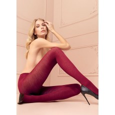 Levante Plain Wool Tights Sherry
