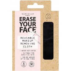 Danielle Erase Your Face Eco Make-Up Removing Cloth-Black