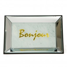 Danielle Mirrored Jewellery Tray Bonjour