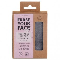 Danielle Erase Your Face Eco Make-Up Removing Cloth-Grey