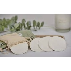 Danielle Full Circle Beauty 8 Bamboo MakeUp Removing Pads In reusable pouch