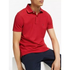 Tommy Hilfiger Regular Red Polo