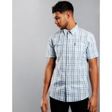 Barbour Tattersall 14 Short Sleeve Tailored Fit Shirt