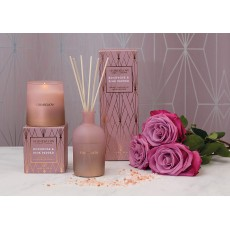 Stoneglow Geometric Rock Rose & Pink Pepper Reed Diffuser
