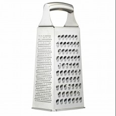 Masterclass 4 Sided Grater 19cm Stainless Steel