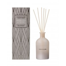 Stoneglow Geometric Reed Diffuser Water Lily & Thyme