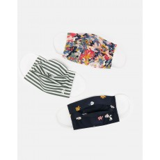 Joules Face Covering Pack Multi