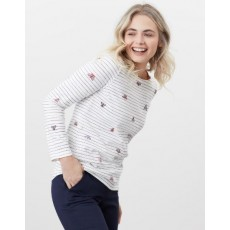 Joules Harbour Print Long Sleeve Top