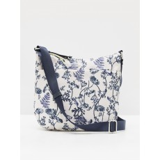 White Stuff Willow Nylon Crossbody Bag Natural