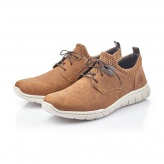 Rieker Contrast Lace Up Shoe