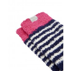 LONG FLUFFY SOCKS FRNAVY