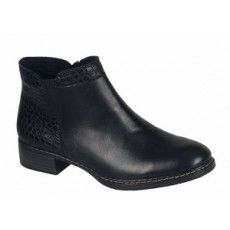 Rieker Black Ankle Boot