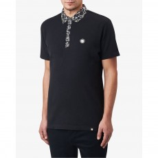 Pretty Green  Ivylea Floral Collar SS Polo
