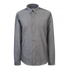Pretty Green  Milstead LS Ditsy Paisley Shirt Grey