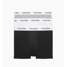 Calvin Klein Trunk 3 Pack White/Grey/Black
