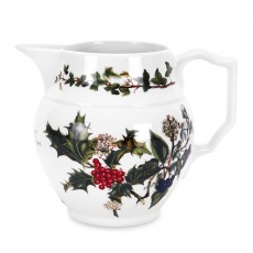 HOLLY & IVY STAFFORDSHIRE JUG 1PT