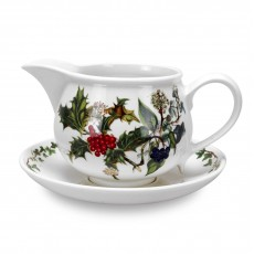 HOLLY & IVY GRAVY BOAT+STAND