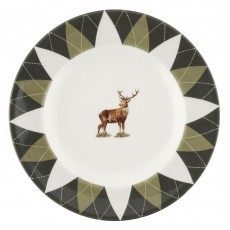 STAG PLATE 6""