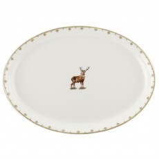 STAG OVAL PLATTER