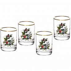 HOLLY & IVY TUMBLERS SET4