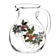 HOLLY & IVY PITCHER